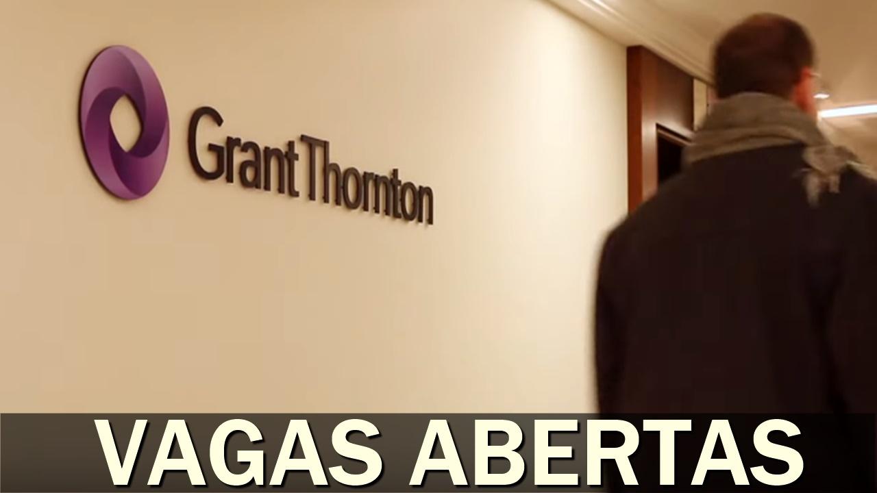 emprego - Grant Thornton - trainee - engenharia - vagas - sem experiência