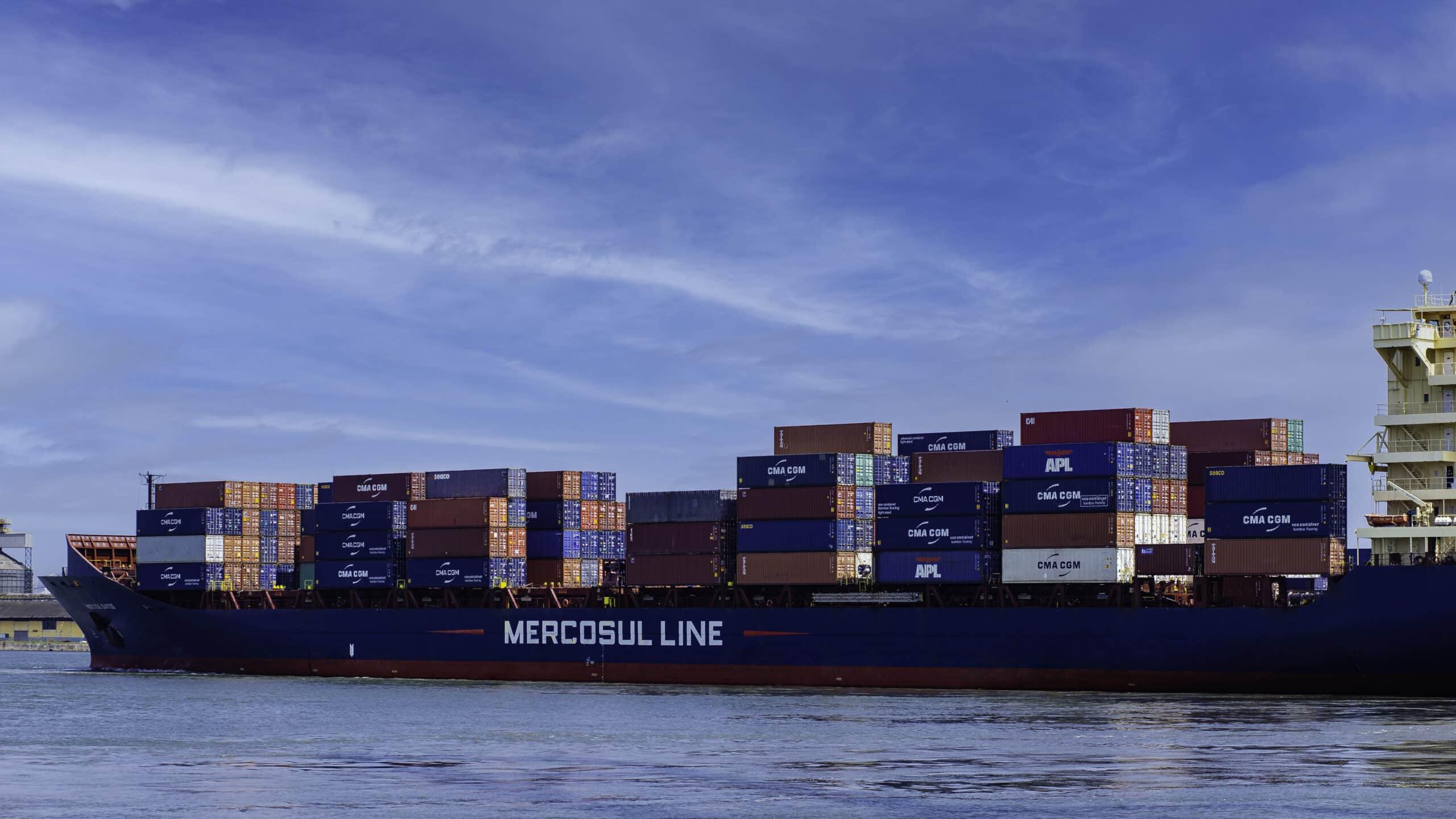 cabotagem - logística - transporte marítimo