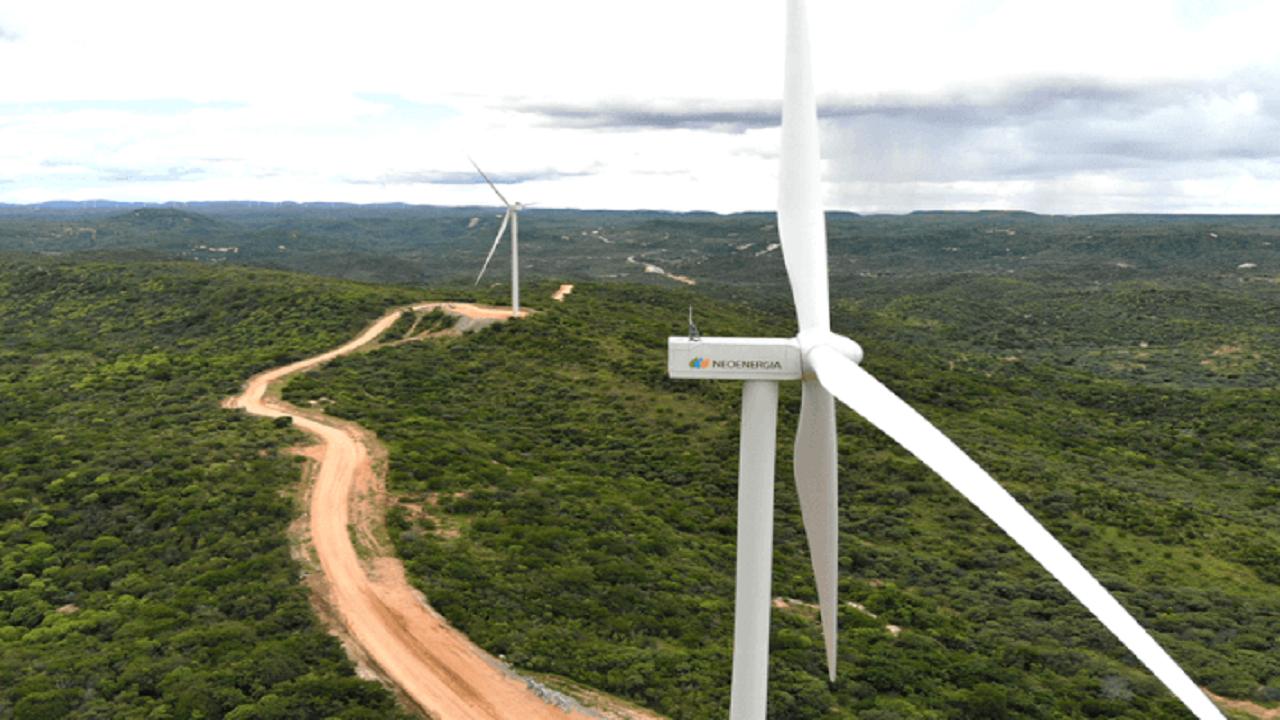 Neoenergia - aerogeradores - Paraíba - usina - energia eólica