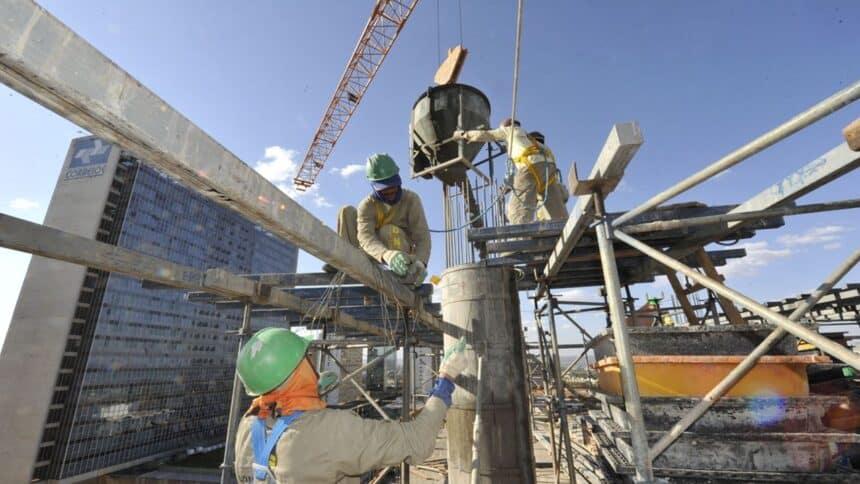 concreto - preço - construção civil - tijolo - rejunte - resíduos - entulho