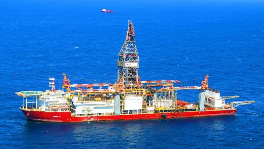 Ocyan - navio-sonda - afretamento - Petrobras