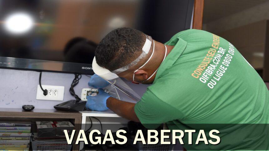 emprego - Oi - técnico - suporte - rio de janeiro - são paulo - brasília - minas gerais - analista - administrativo - sem experiência - estágio - ensino médio