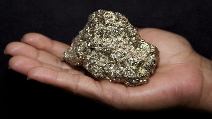 ouro - pirita - minério - preço