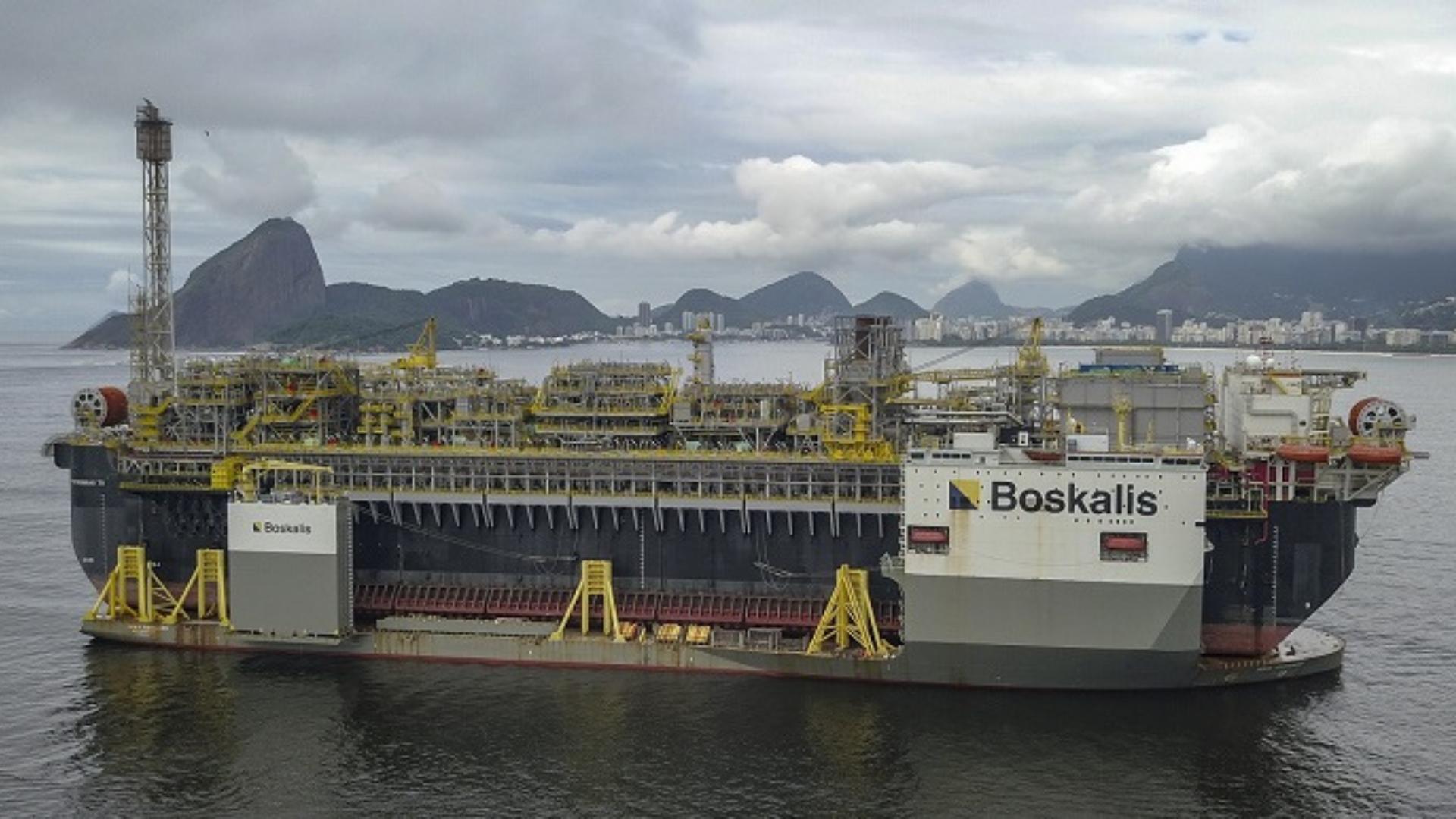 Petrobras – plataforma – pré-sal – Bacia de Santos