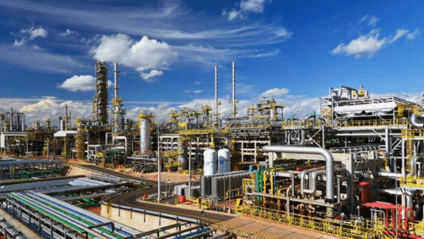 Petrobras – refinaria – produção
