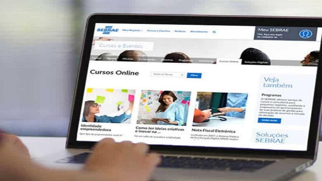 Sebrae - vagas - cursos gratuitos online - EAD - SP