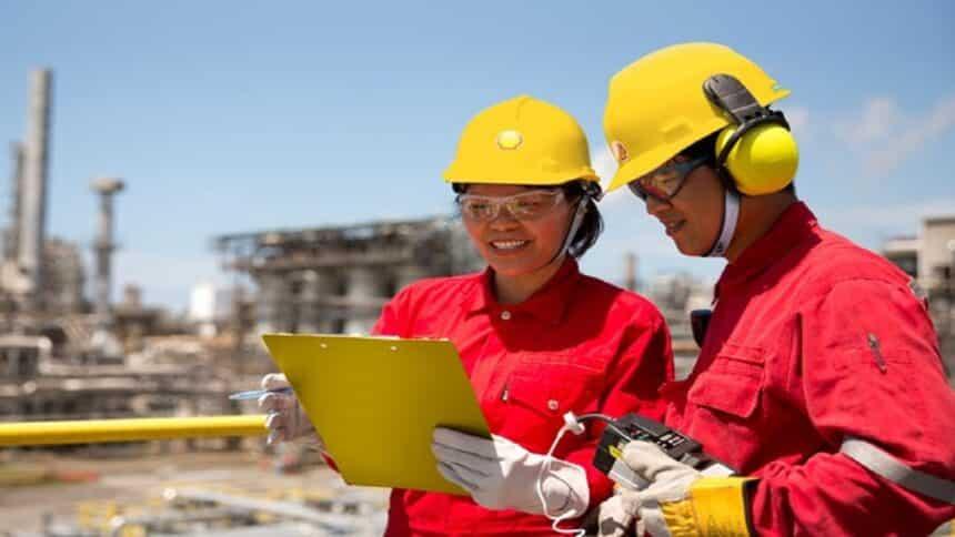 Shell - inteligência artificial - offshore - onshore - segurança
