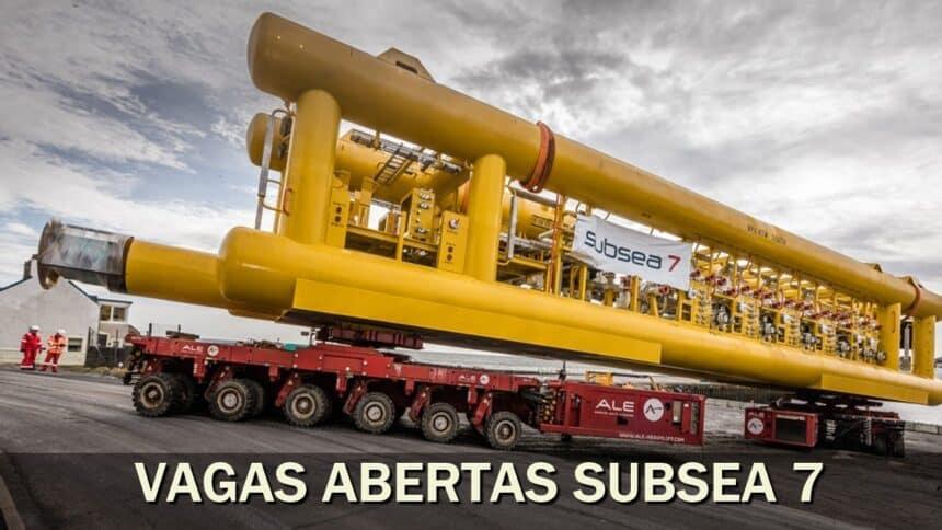 óleo e gás - vagas - rio de janeiro - estágio - SUBSEA
