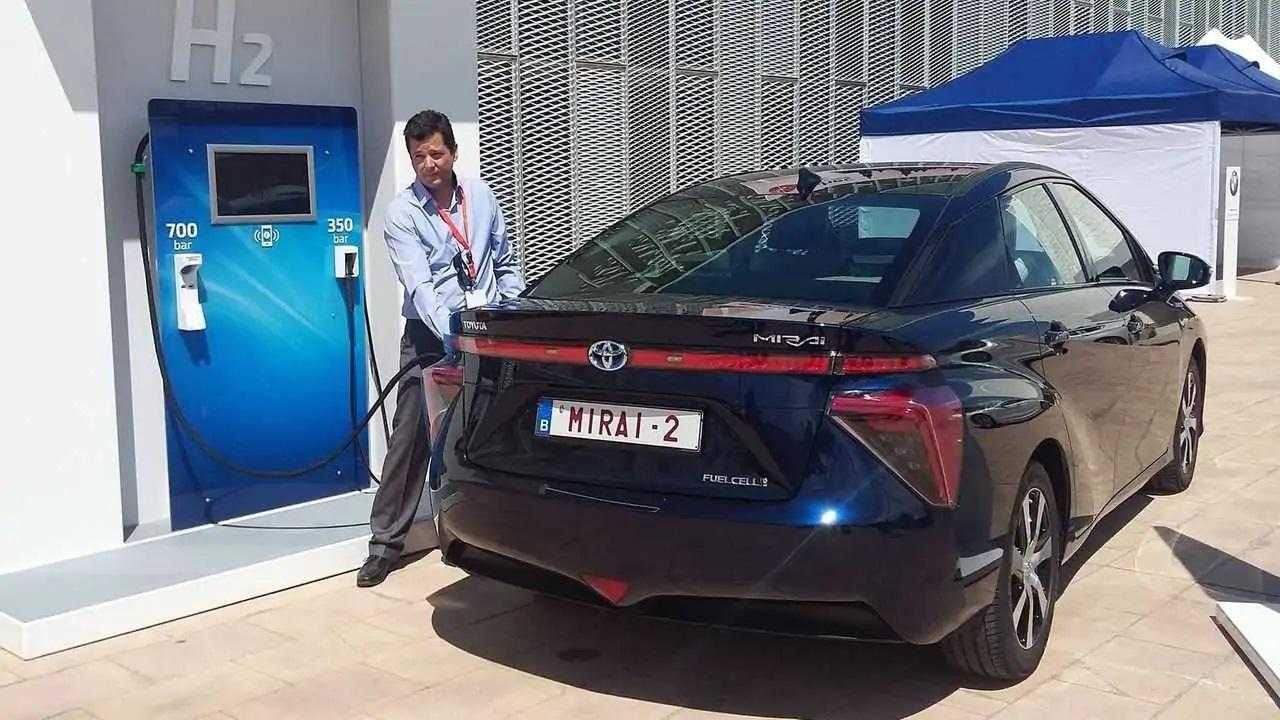 Toyota - corolla - hidrogênio - motor