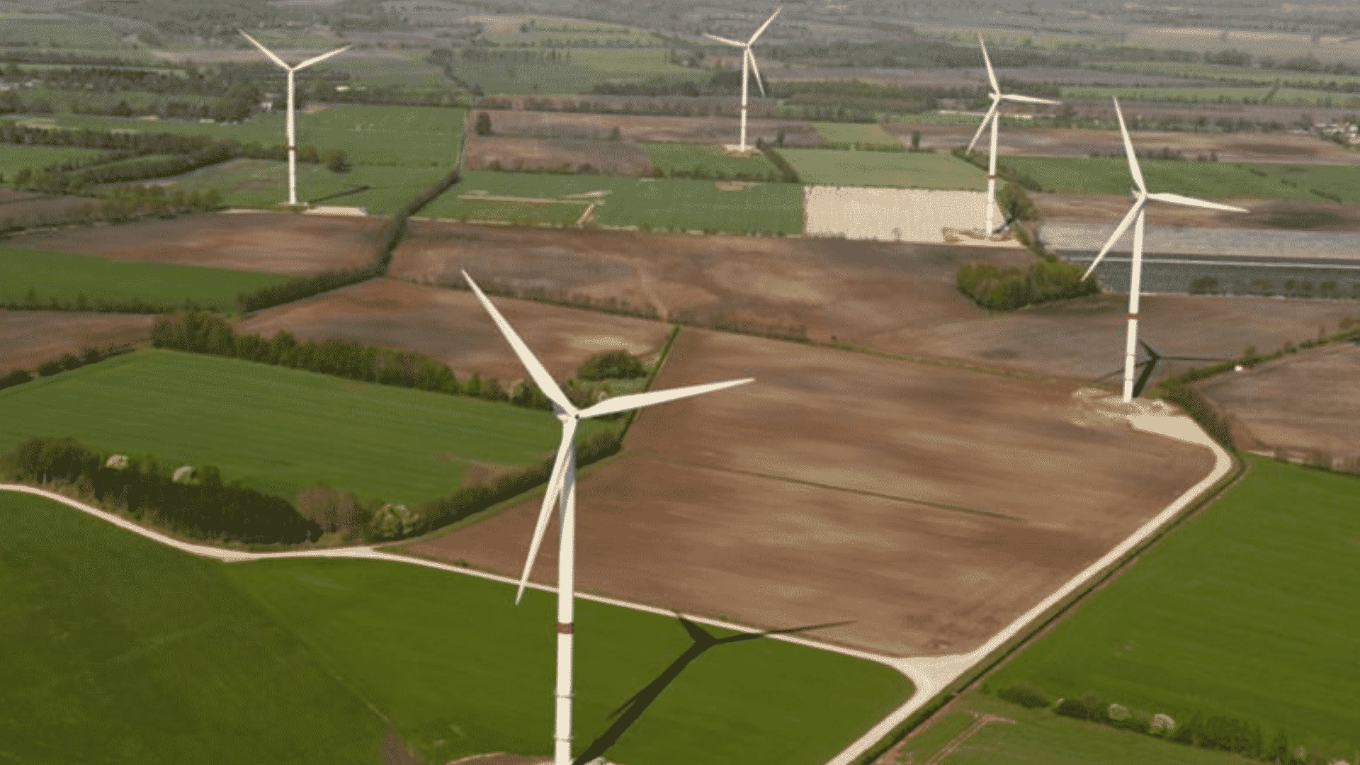 Parque eólico – Itália - turbinas