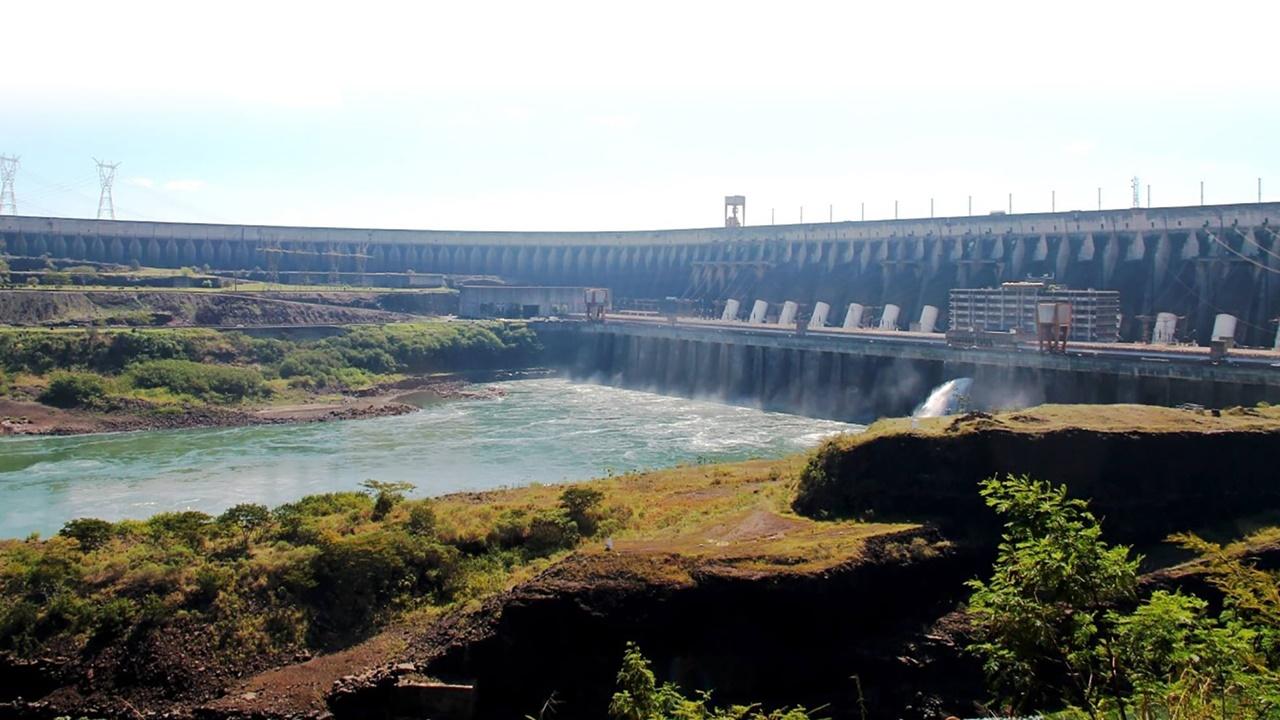 usina - biosfera - hidrelétrica - itaipu - paraguai - paraná - mata atlântica - unesco