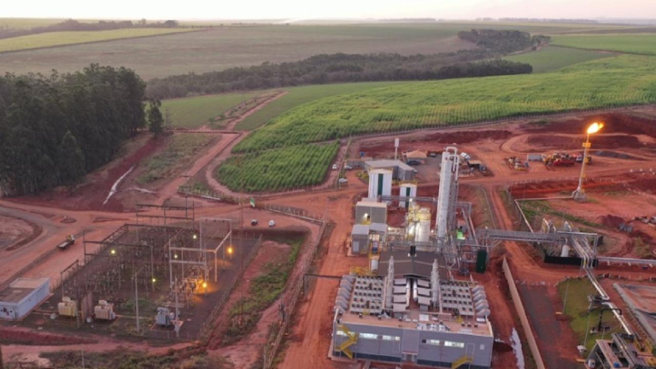 Usina - Raízen - Biogás - energia elétrica