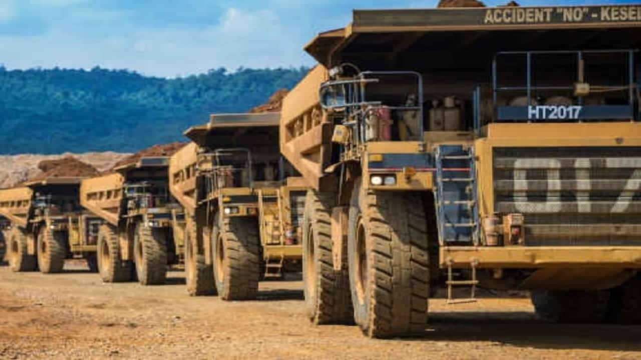 Vale - caminhões autônomos - caminhões - mina -
