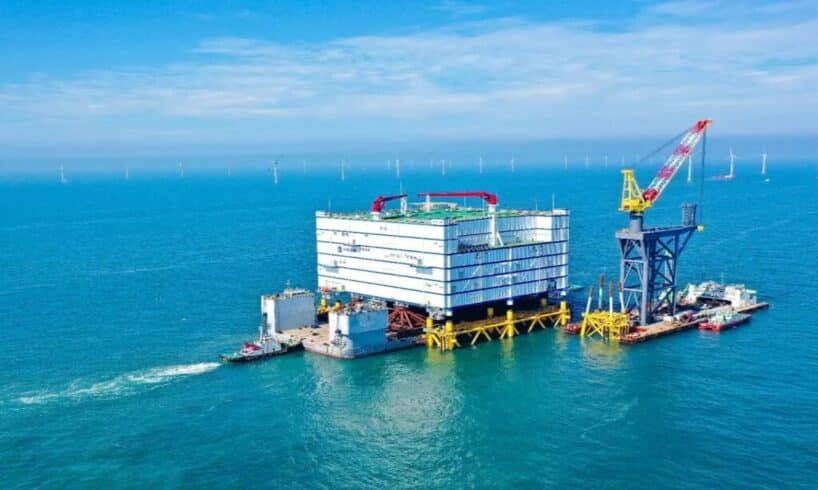 china - turbinas - energia - offshore - energia eólica - Jiangsu Rudong