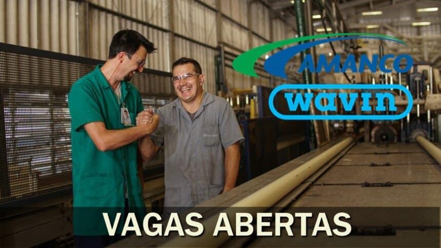 Amanco - tubos - conexões - vagas - emprego - sp - pe - sc - estágio - indústria - mexixen