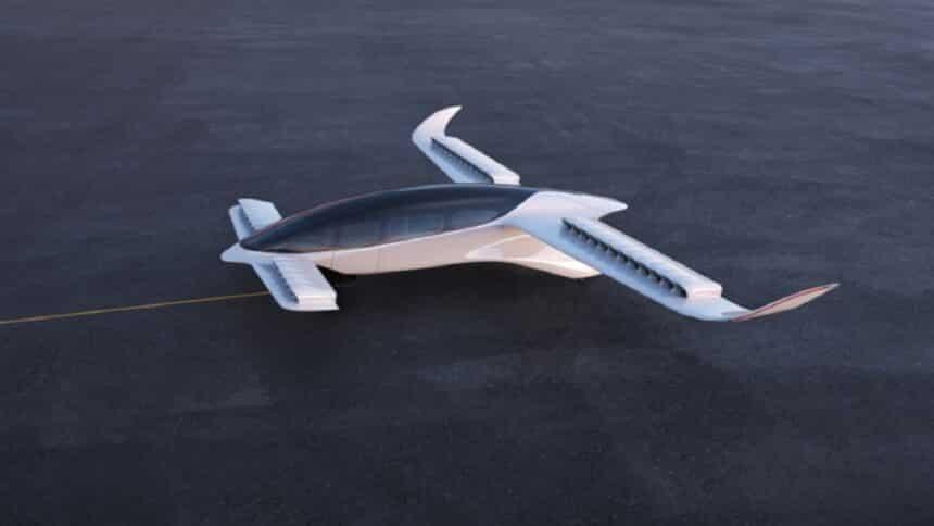 Azul - carros voadores - carros -