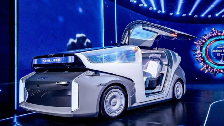 Baidu - motores - carro elétrico - carro elétrico autônomo