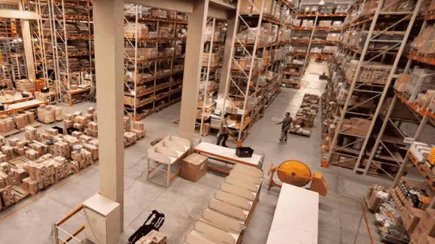 Centro de distribuição – Minas Gerais – construção