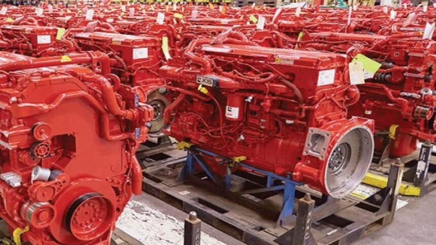 Cummins - motor - hidrogênio - motor a combustão