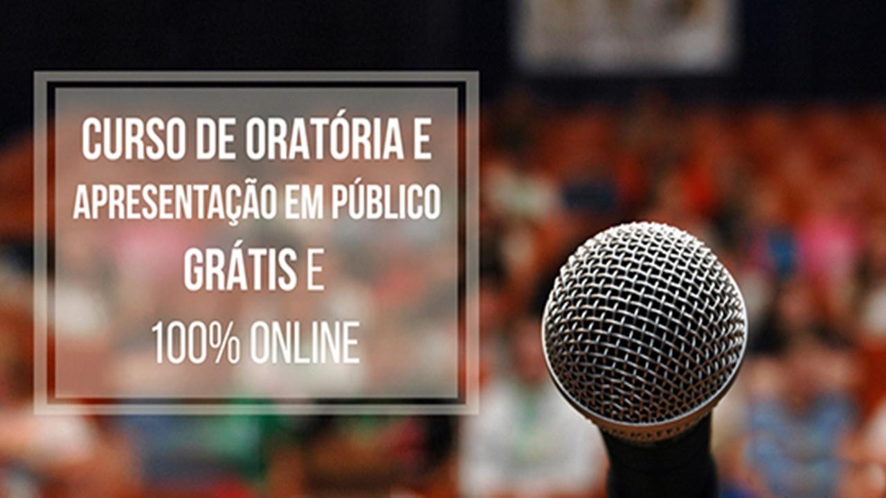 cursos gratuito - cursos online - oratória - qualificação - vaga de emprego
