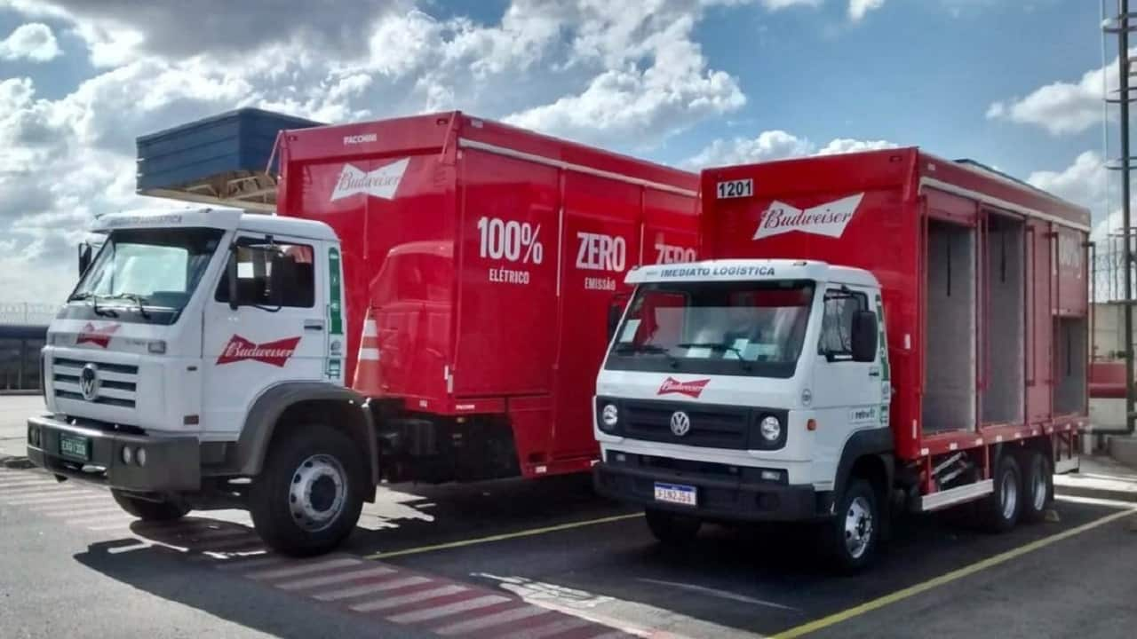 SP - diesel - veículos elétricos - caminhões - investimento
