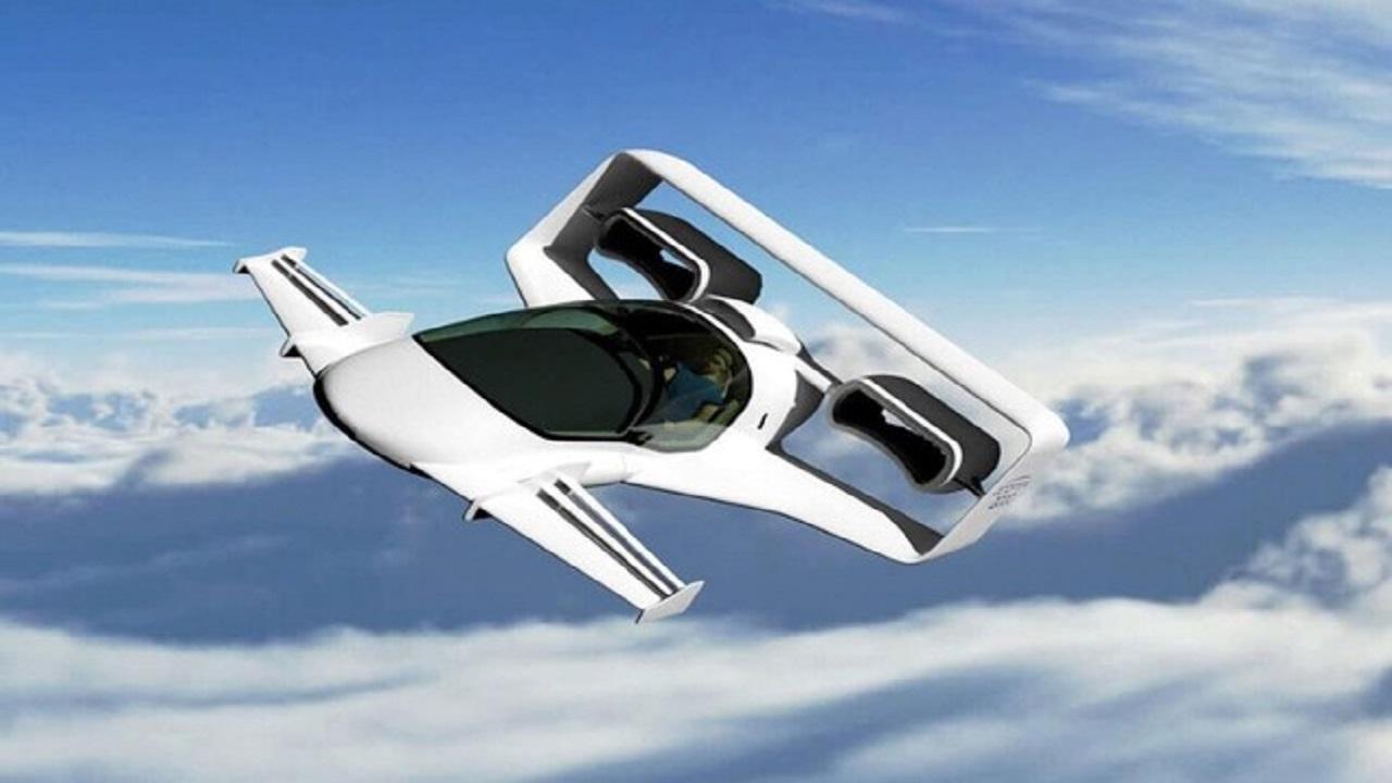 carro elétrico voador - hélices - carro voador -