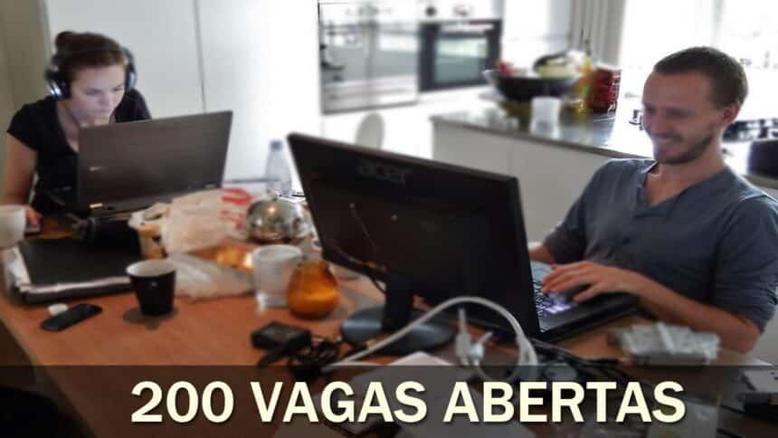vagas de emprego - home office - trabalho remoto - sp - trabalhar no conforto de casa - trabalho remoto - belo horizonte - tecnologia - técnico