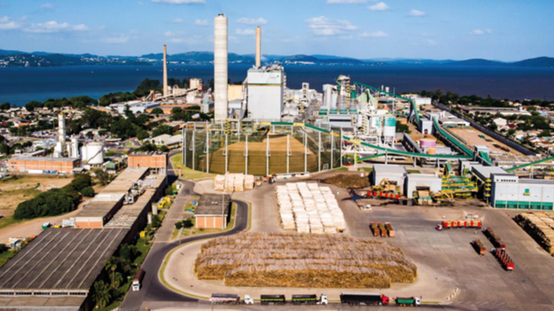Fábrica – celulose – Rio Grande do Sul