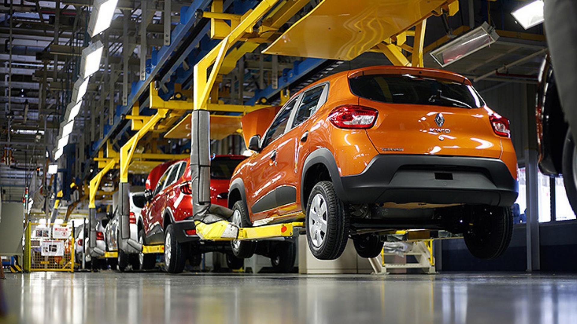 Renault – produção – fábrica