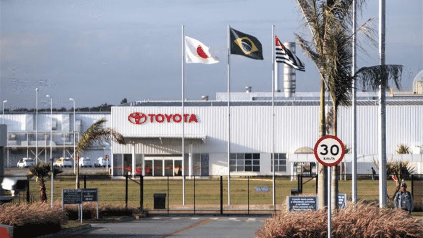 Toyota – fábrica – São Paulo