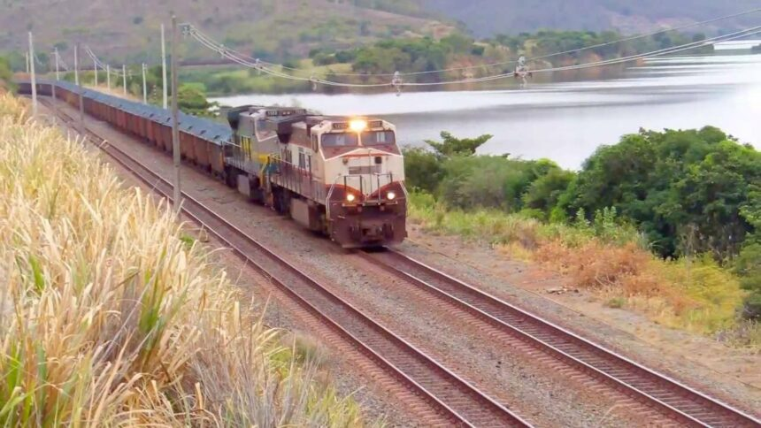Ferrovias – obras – Santa Catarina