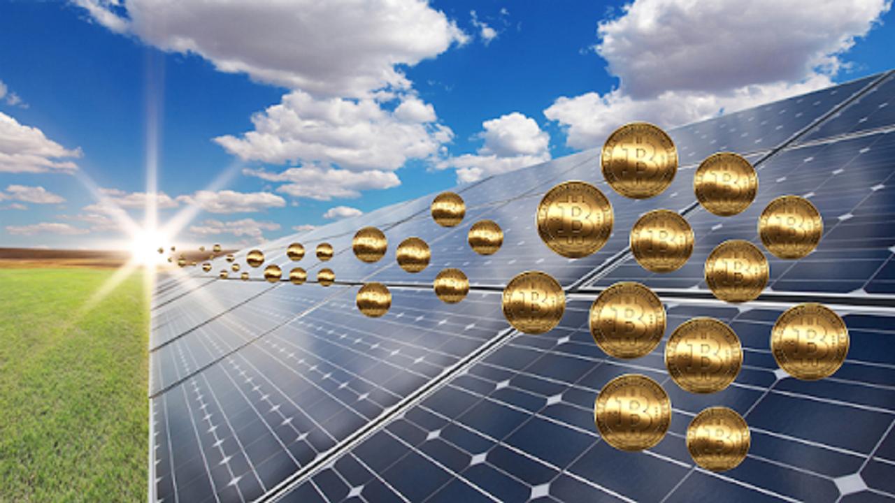 Energia solar - criptomoeda - empresários - energia renovável