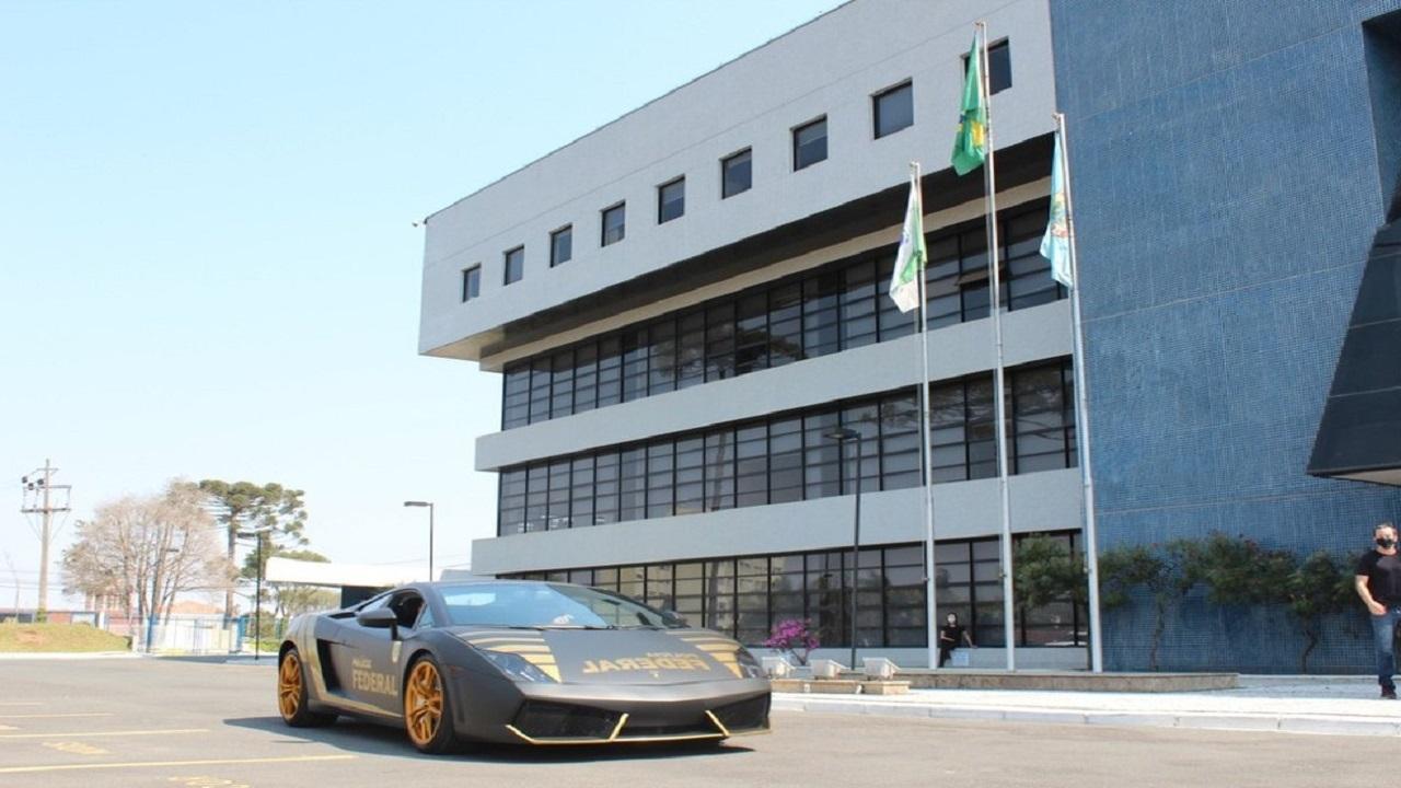 Paraná - PF - Policia Federal - Lamborghini-Gallardo - viatura