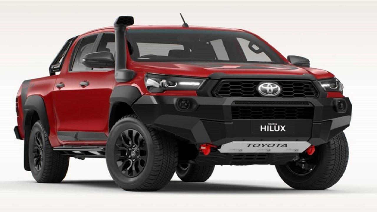 Hilux - Toyota - diesel - motor térmico