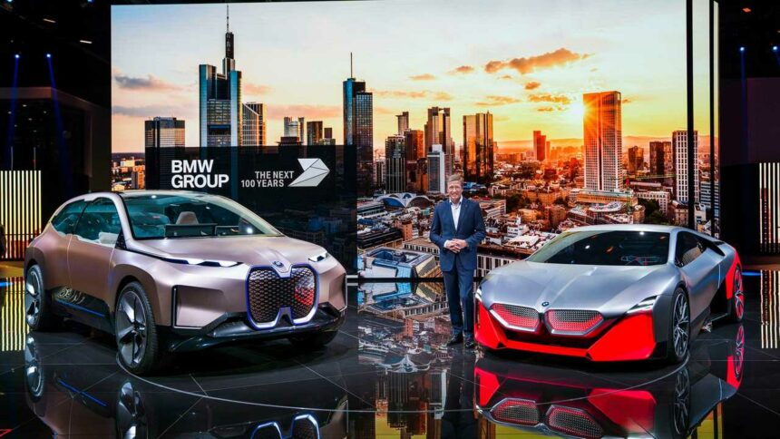 BMW - motores a combustão - carros elétricos -
