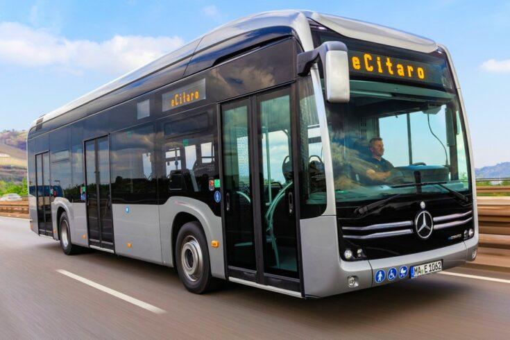 Mercedes-Benz – produção – ônibus elétricos