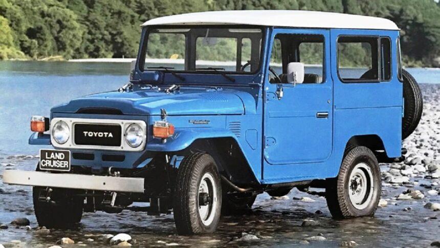 Toyota - Bandeirantes - Land Cruiser -