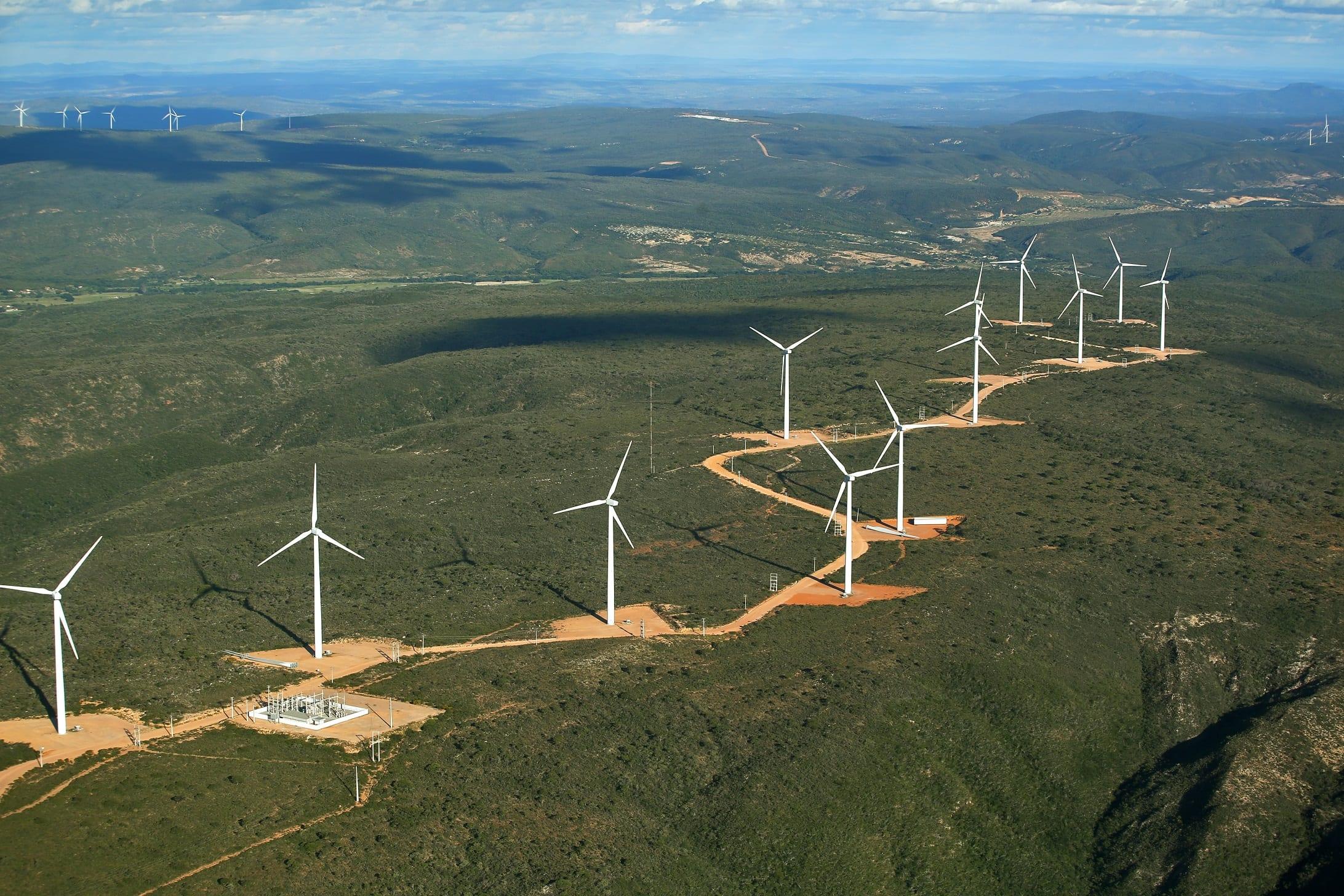 Parque eólico – construção – Rio Grande do Norte