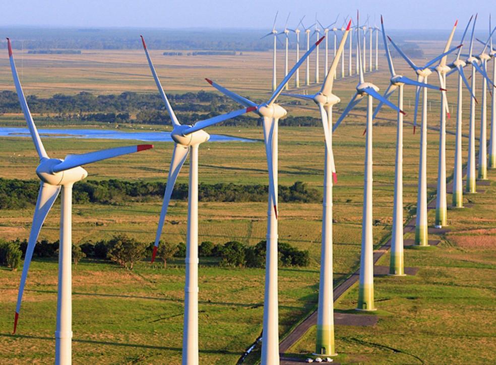Energia eólica – parque – Rio Grande do Sul