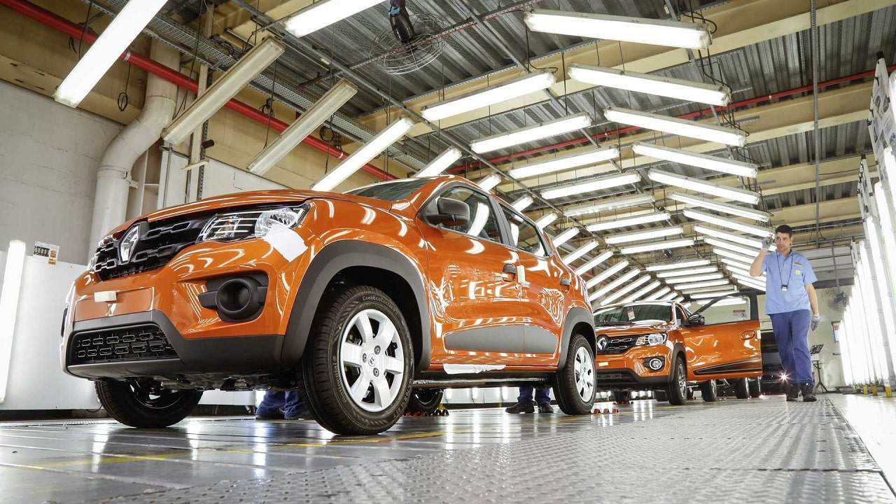 Renault - multinacional - automóveis - paralisação - Paraná - fábrica