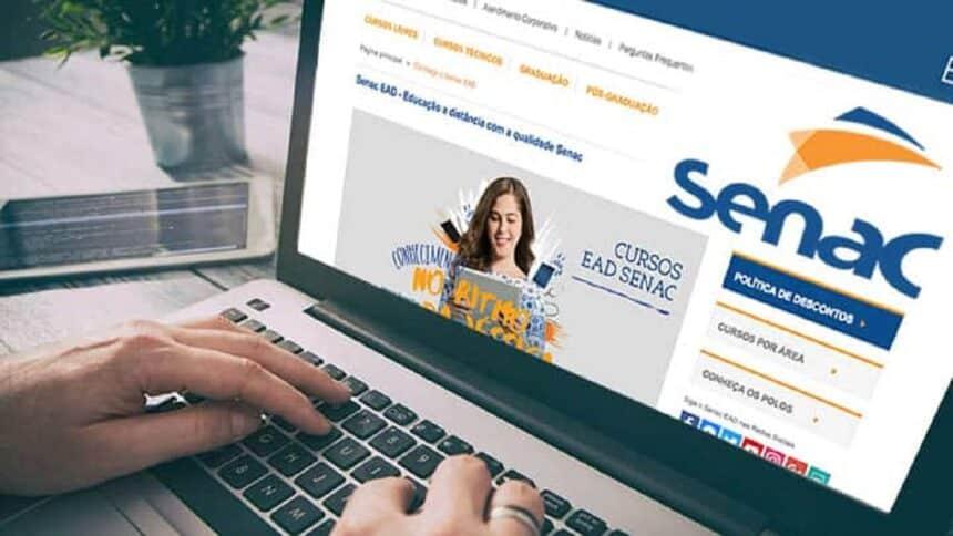Senac - PR - cursos gratuitos online - EAD - vagas