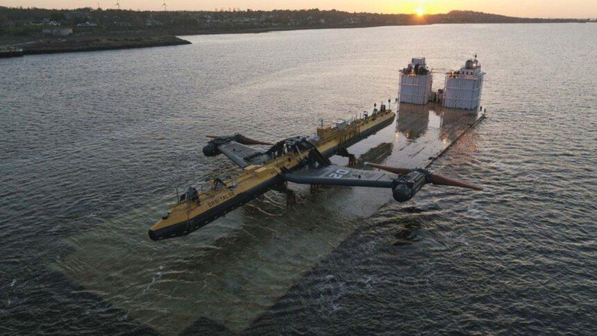 turbina - maremotriz - weg - energia das marés