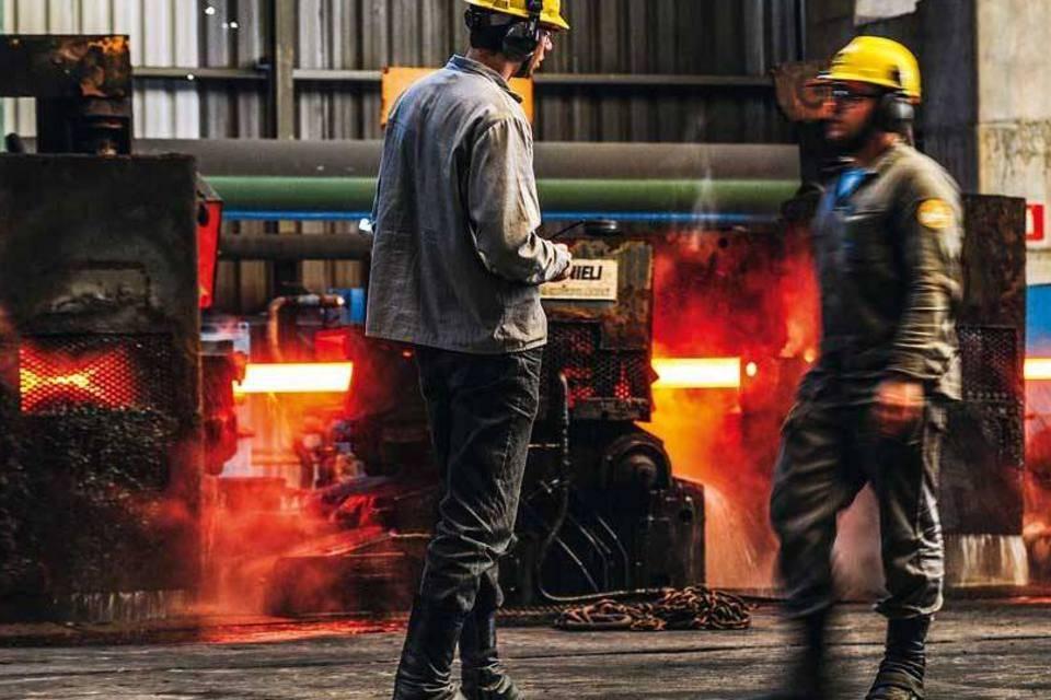 Gerdau – produção – aço