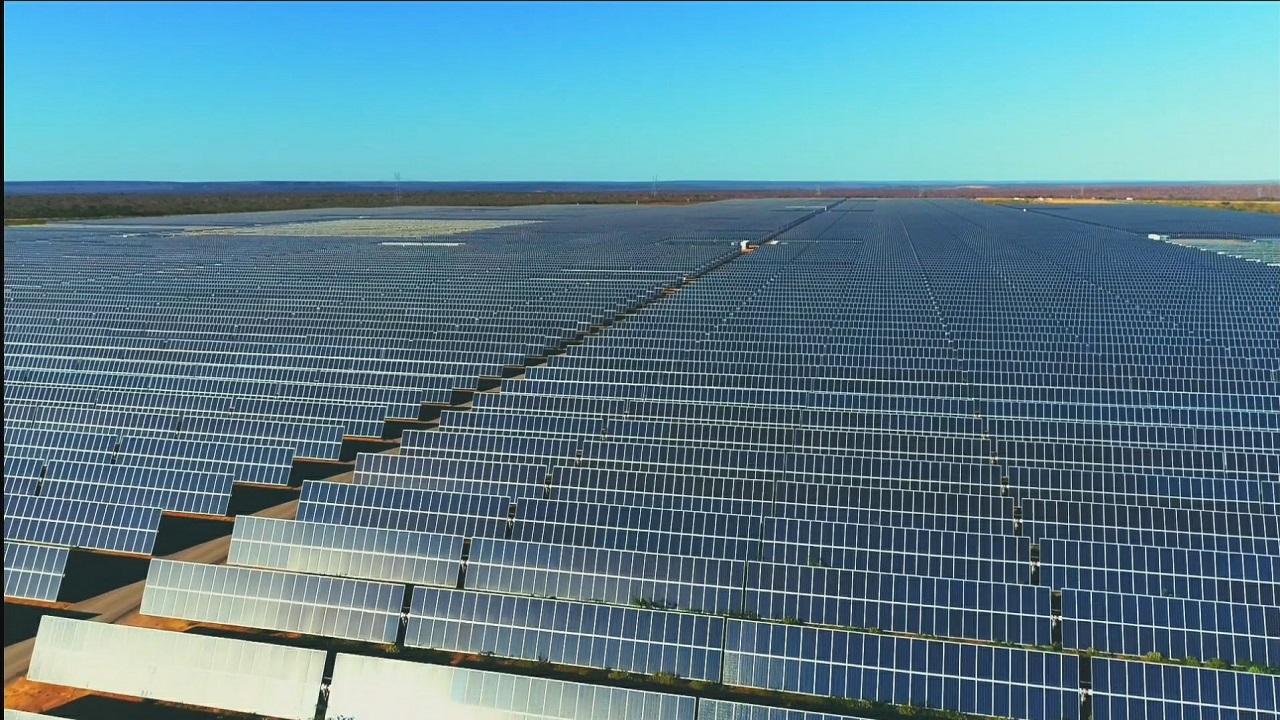 usina - energia solar - Piauí - energia elétrica - painéis solares