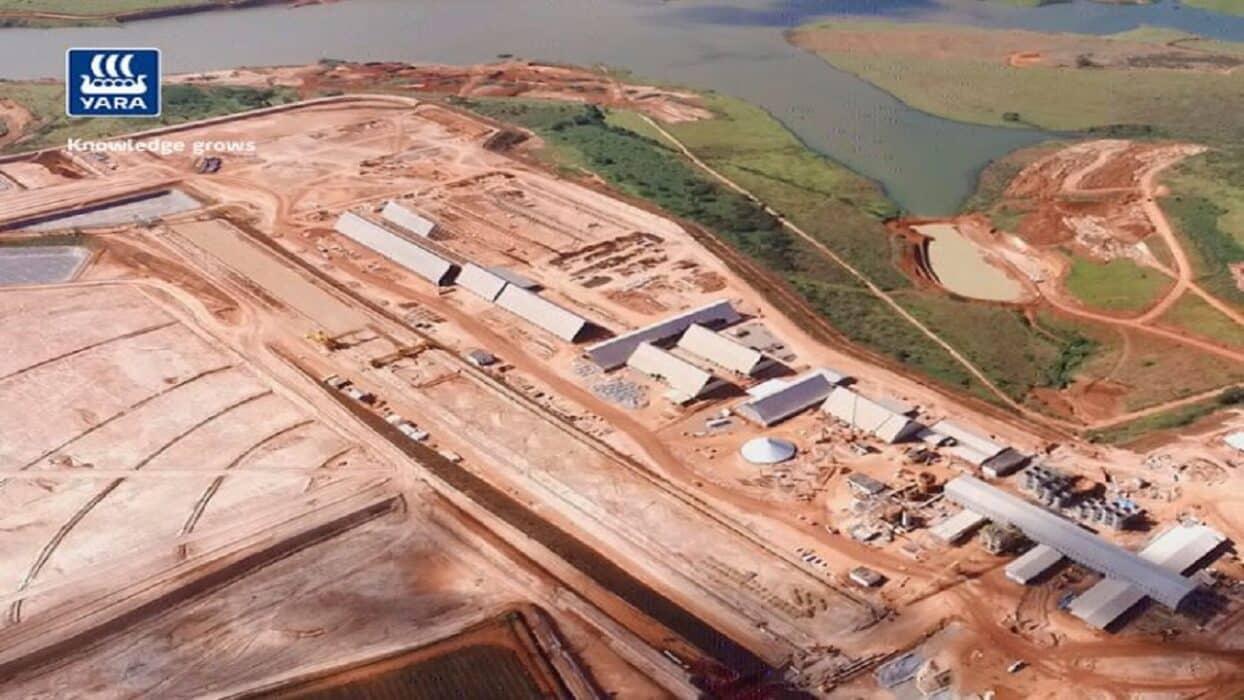 Yara - mineração - fosfato - Minas Gerais
