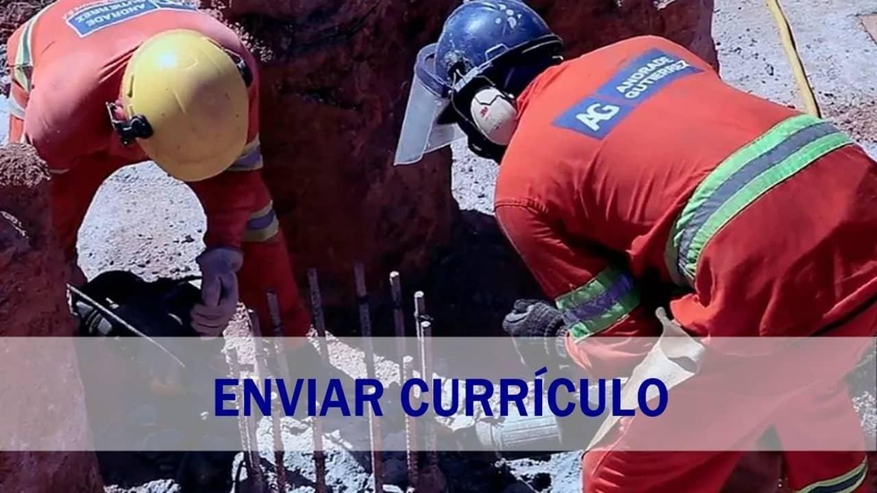 Andrade Gutierrez - construtora - construção civil - emprego - Minas Gerais