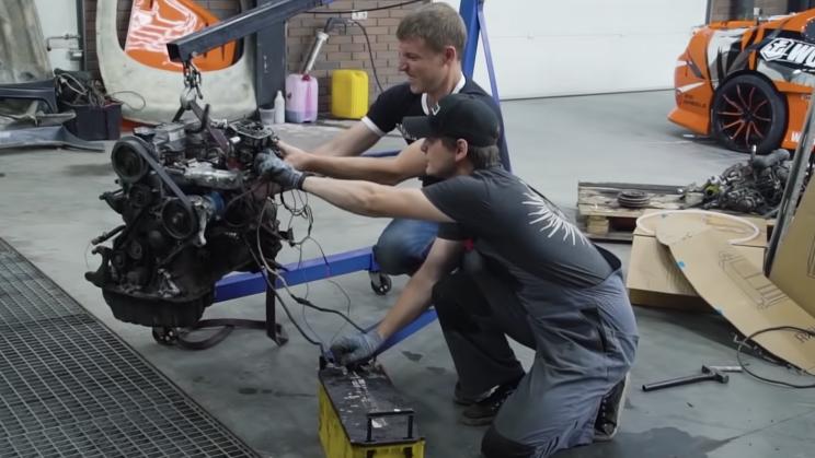 diesel gasolina motor