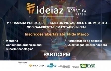 Ministério da Economia projetos inovadores online