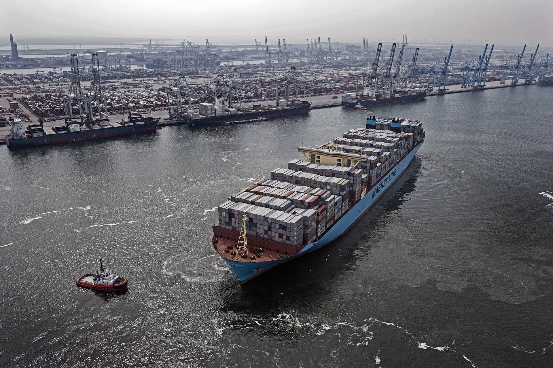 maersk - hyundai - navio - estaleiro - logística