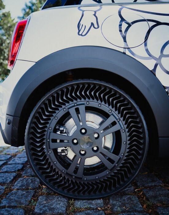 Michelin pneu sem câmara ar meio ambiente